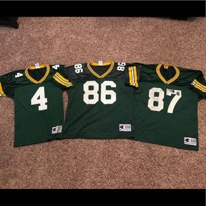 Vintage Packers Champion Youth Jersey Bundle